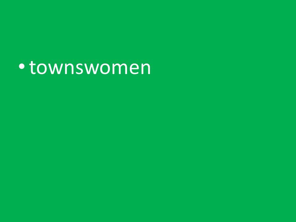 townswomen