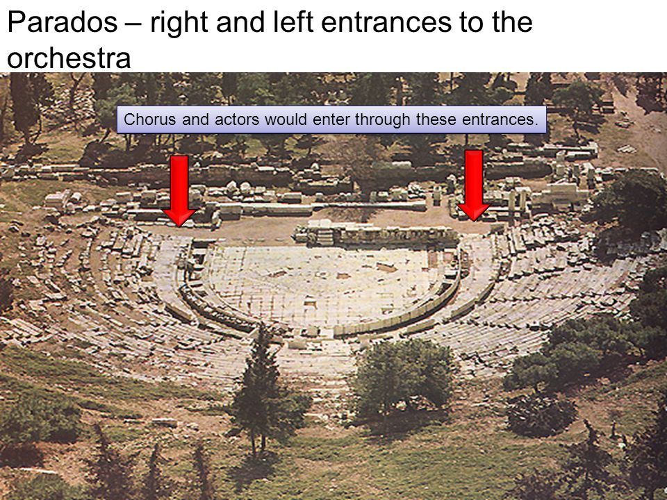 Computer-generated reconstruction of the Theater of Dionysus in Athens