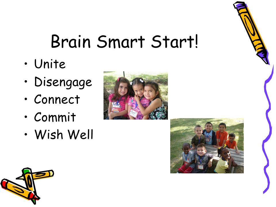 Brain Smart Start! Unite Disengage Connect Commit Wish Well