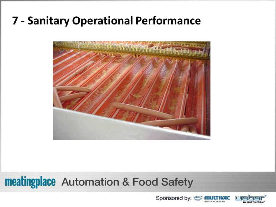 7 - Sanitary Operational Performance