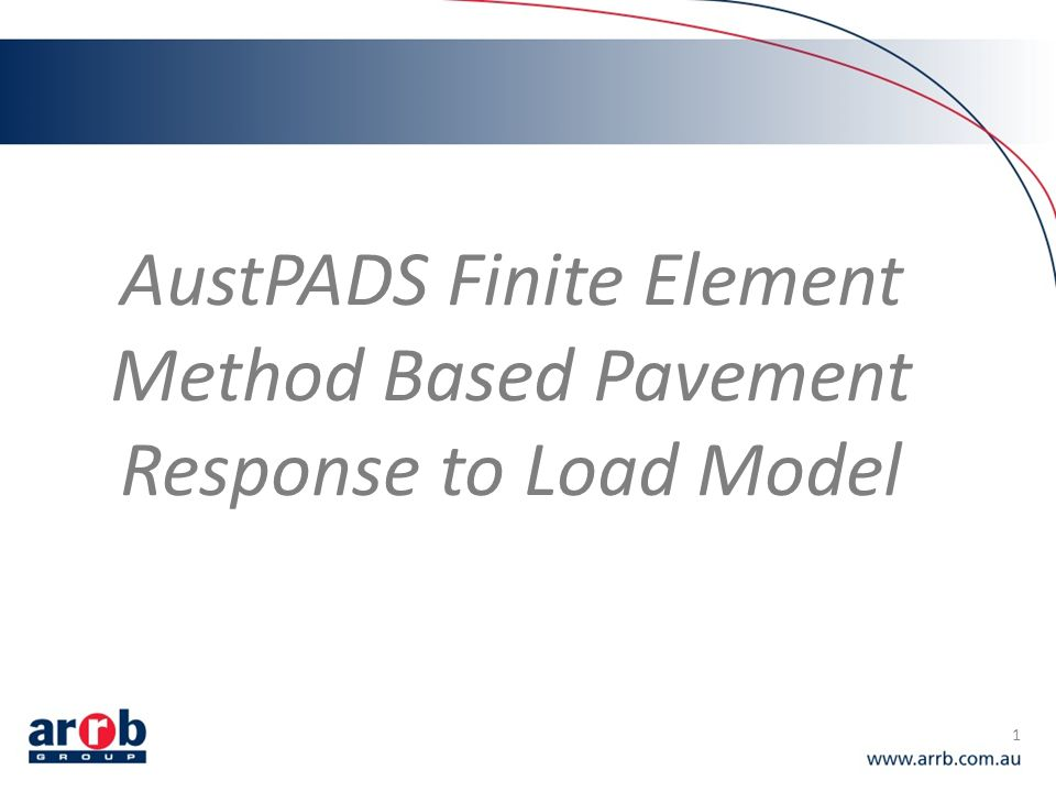 Presumptive model parameters 12 Austroads project TT1452 developed presumptive model parameters: Report AP-T199-12 (Austroads, 2012) – Base materials (High and normal quality crushed rock) – Subbase materials – Typical subgrades MaterialCBR (%) Silt (ML) 2100.0-0.50 ………… 5350.10-0.35 Highly plastic clay (CH) 2100.0-0.50 ………… 5350.10-0.35 Silty/sandy-clay (CL/SC) 3150.0-0.50 ………… 10700.15-0.35 Sand (SW, SP) 10700.15-0.35 ………… 15850.15-0.35 Material Upper granular subbase1750.9 -0.25 Lower granular subbase1500.8 Material High quality base250 1.0-0.25 Normal quality base220