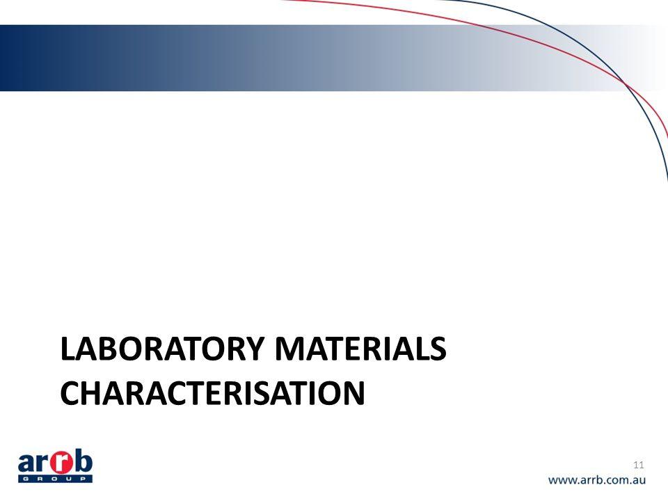 LABORATORY MATERIALS CHARACTERISATION 11