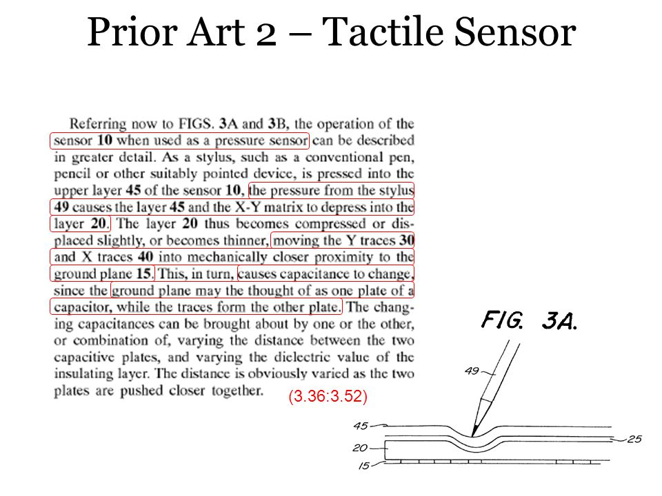 Prior Art 2 – Tactile Sensor (3.36:3.52)