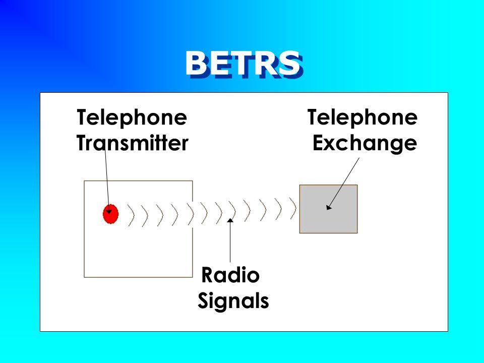 BETRS Telephone Transmitter Radio Signals Telephone Exchange