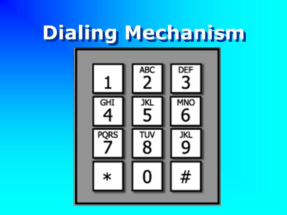 Dialing Mechanism