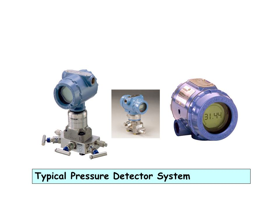 PRESSURE SENSOR Can be divided into three types: 1.