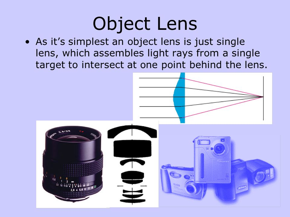 Spherical lenses cause some distortion for the edge-rays.