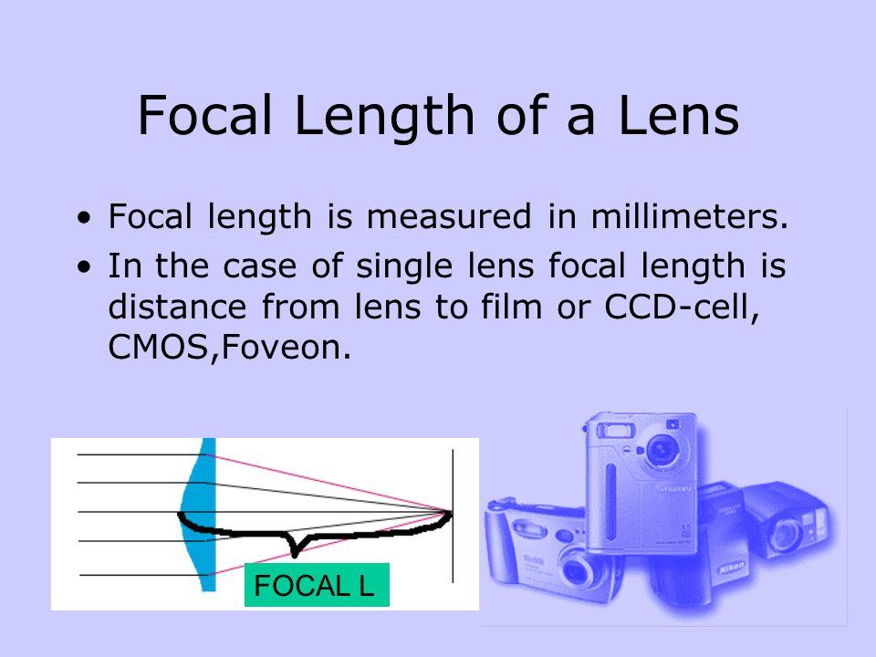 Deep focused area The deep focused area grows when diaphragm is increased (aperture size decreased).