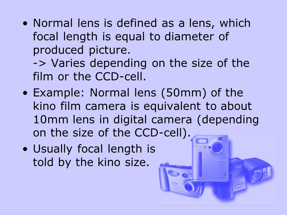 Most of the digital cameras don't have a proper protection against light rays.