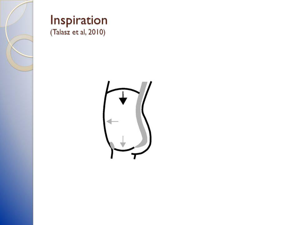Inspiration (Talasz et al, 2010)