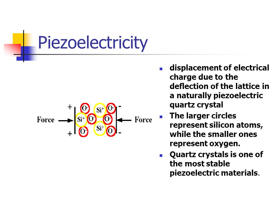 Artificial materials polycrystalline, piezoceramics are man made materials which are forced to become piezoelectric by applying large electric field.