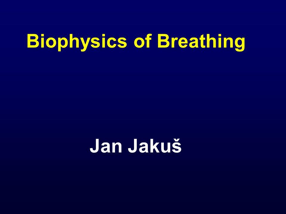 Biophysics of Breathing Jan Jakuš