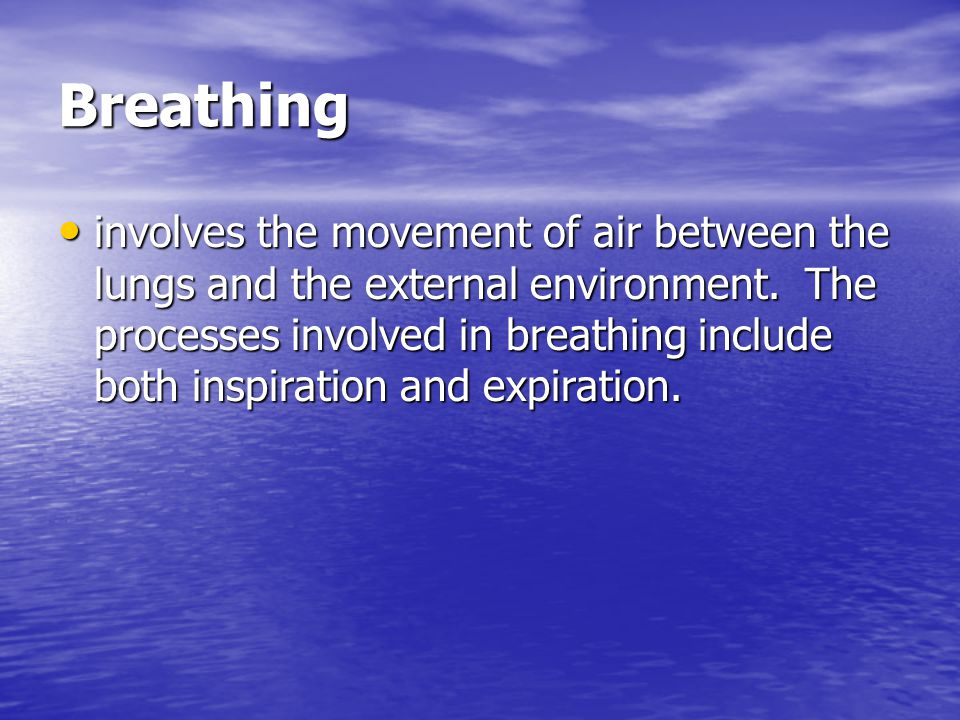 Breathing is not: YawningHiccuping - Stretching the facial- Spasm of the muscles diaphragm muscles diaphragm