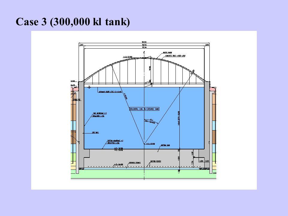 Case 3 (300,000 kl tank)