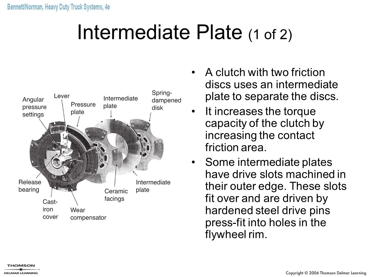 Two-piece Clutch Brakes Sold by aftermarket suppliers Can be quickly installed without removing the transmission –Do not damage the transmission input shaft when cutting out the defective clutch brake with an oxyacetylene torch.