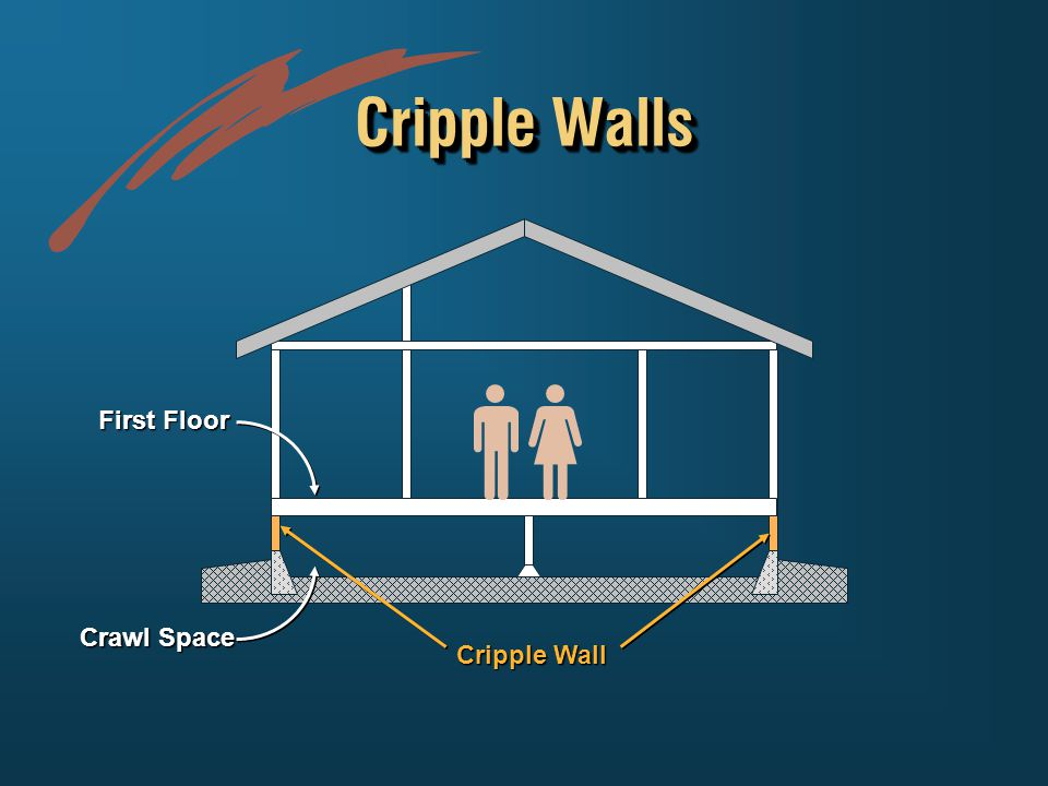 Cripple Walls Crawl Space Cripple Wall First Floor