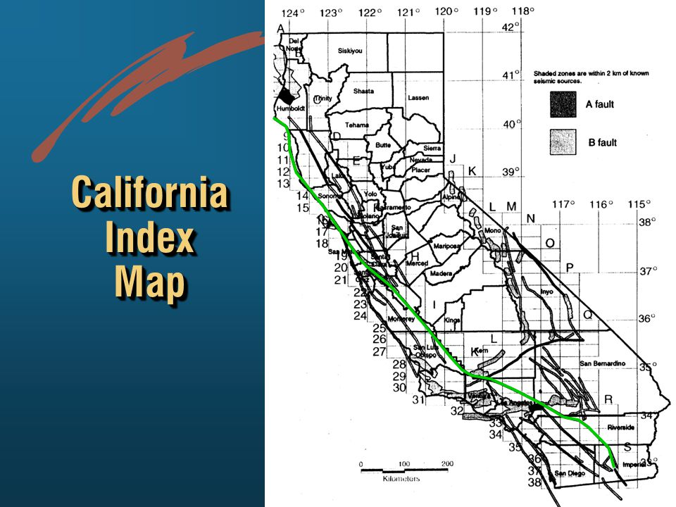 California Index Map