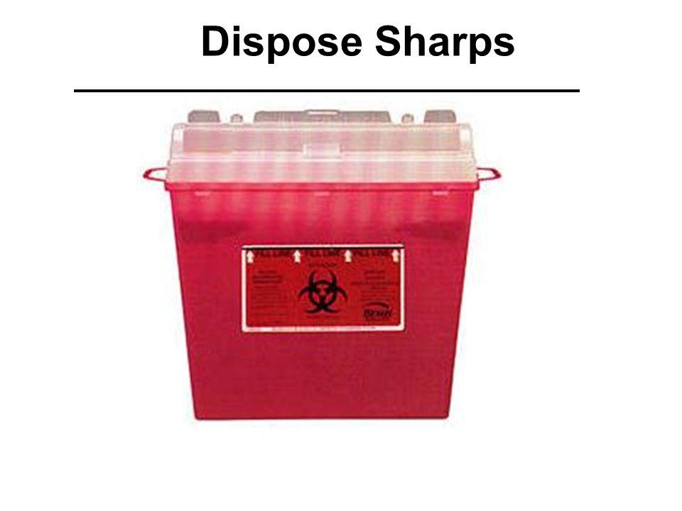 Dispose Sharps