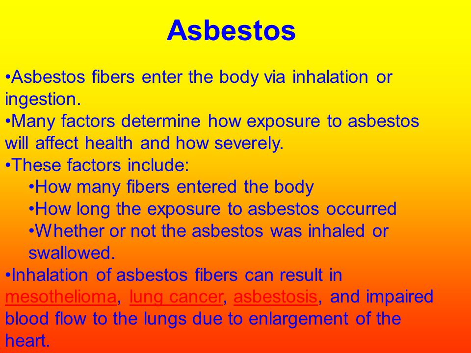 --Bronchitis -Emphysema -Bronchitis -Asthma Many respiratory diseases are cause by abrasive agents: Asbestos -Cigarettes