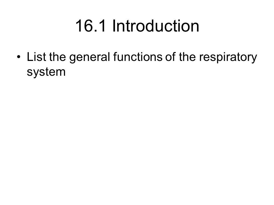 Introduction  A.The respiratory system consists of tubes that filter incoming air and transport it into the microscopic alveoli where gases are exchanged.
