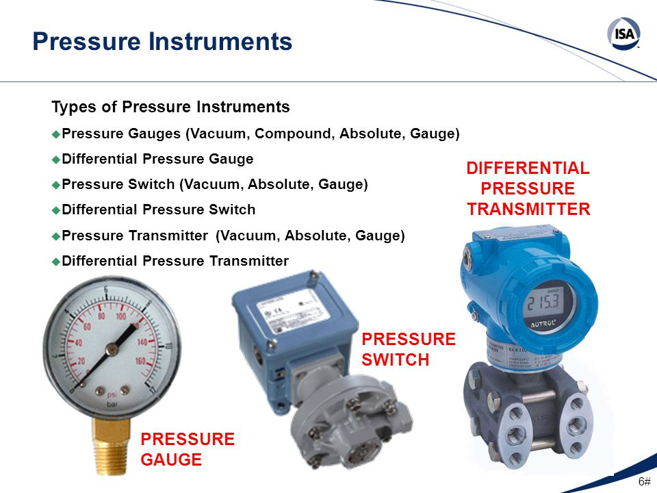 17# Pressure Gauge Ranges Since the accuracy of most pressure gauges is better in the middle portion of a gauge, you should always select a gauge with a range that is about double your normal anticipated pressure.