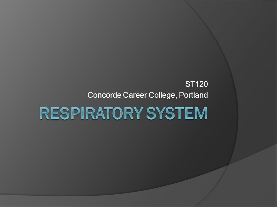 Objectives  Define the term respiration.  Describe the functions of the respiratory system.