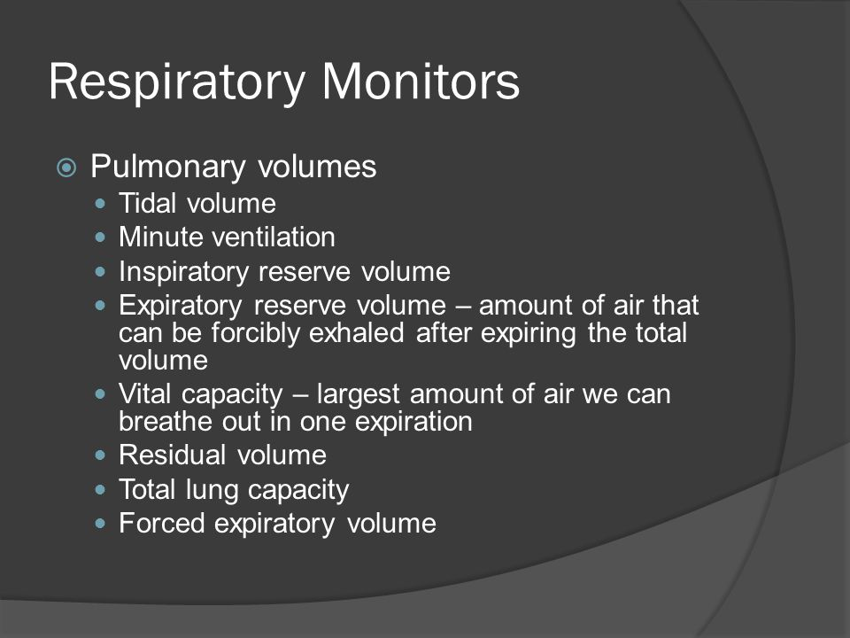 Conditions  Pulmonary edema-abnormal accumulation of fluid in extravascular spaces or alveoli  Pneumothorax-abnormal accumulation of air between the parietal & visceral pleura  Pneumonia- acute infection of lungs  Chronic Obstructive Pulmonary Disease (COPD)-chronic airway obstruction  Emphysema-abnormal, irreversible enlargement of the alveoli due to destruction of alveolar walls  Pleurisy-Inflammation of the pleura that causes pain when the membranes rub together