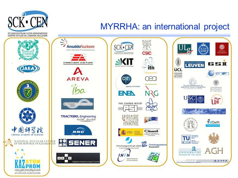 29 MYRRHA: an international project