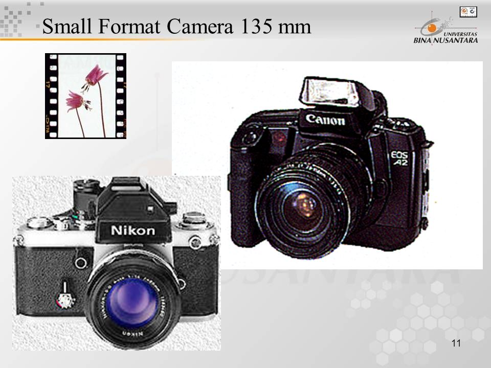 11 Small Format Camera 135 mm Example: