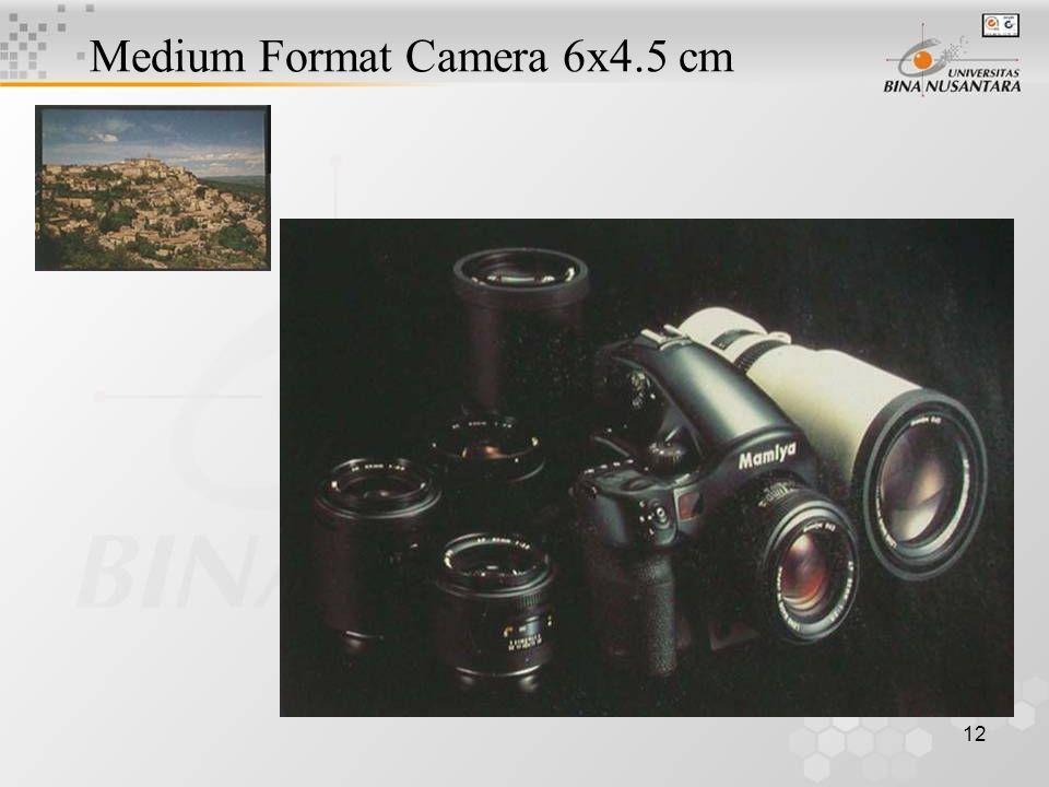 12 Medium Format Camera 6x4.5 cm