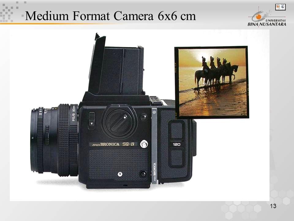 13 Medium Format Camera 6x6 cm