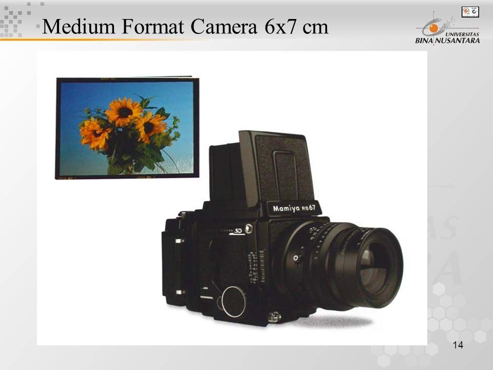 14 Medium Format Camera 6x7 cm