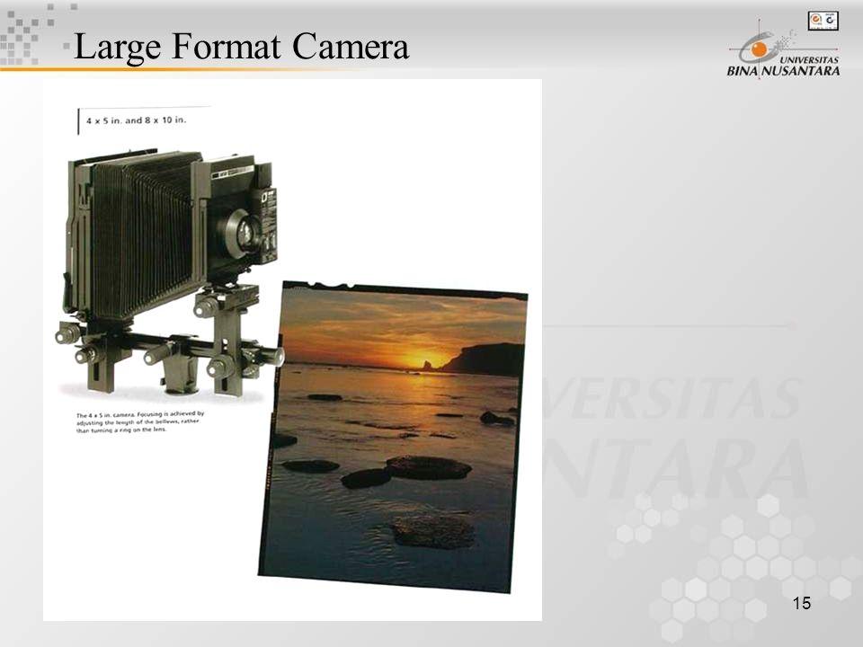 15 Large Format Camera