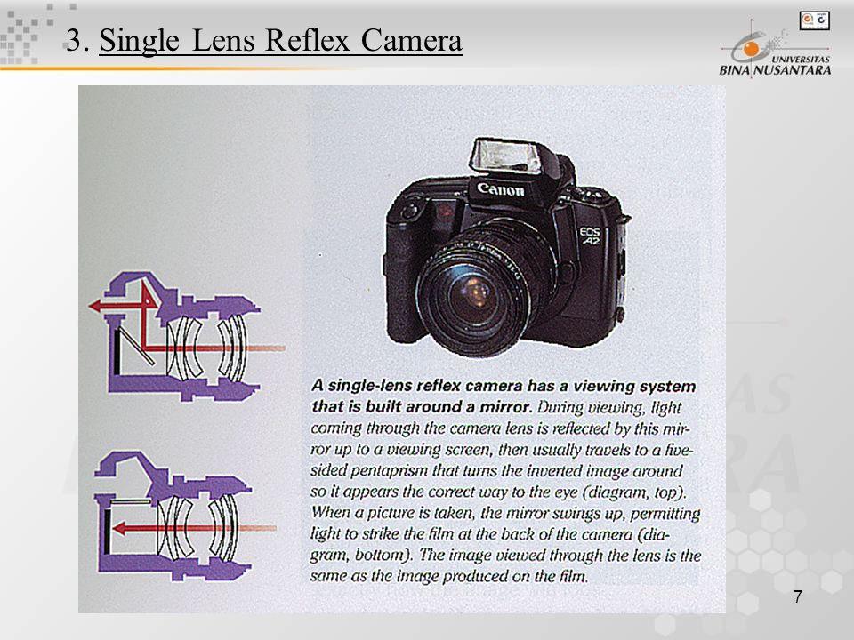 7 3. Single Lens Reflex Camera