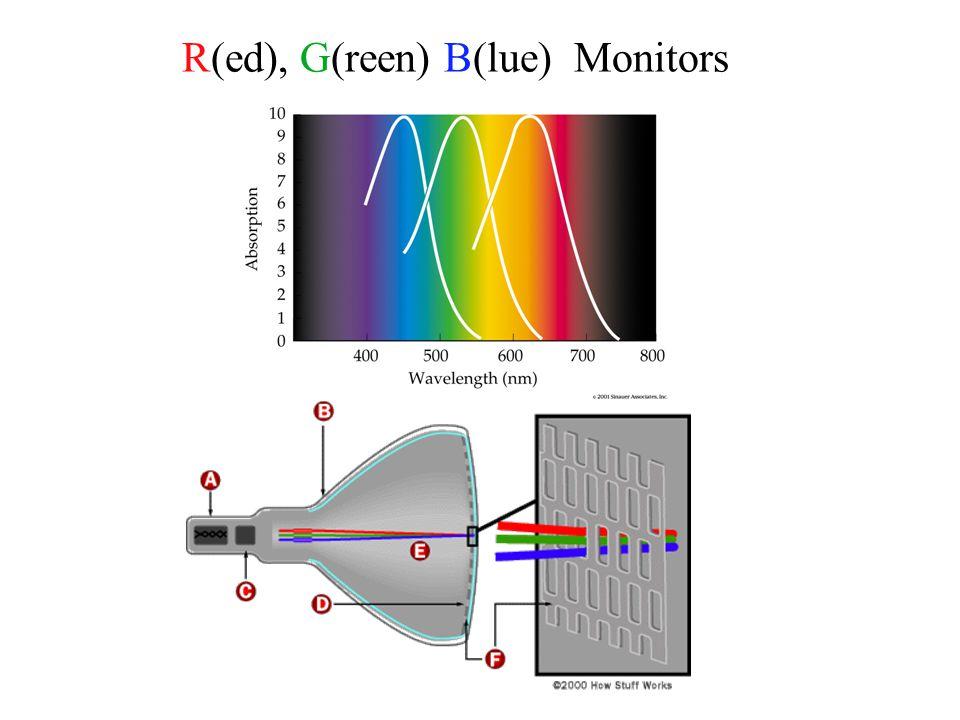 R(ed), G(reen) B(lue) Monitors
