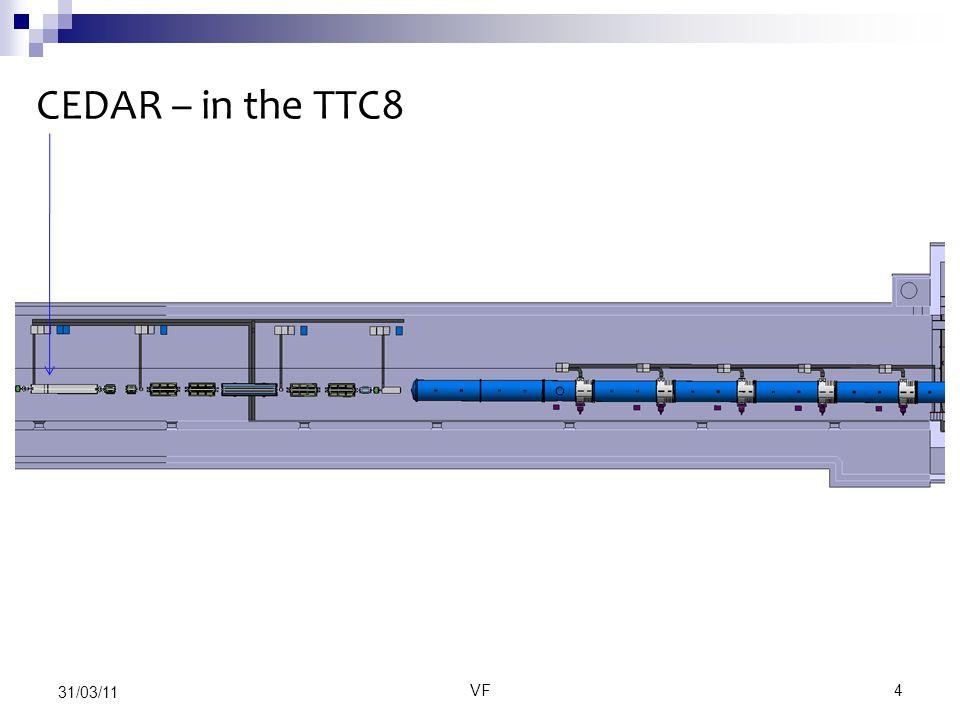VF4 31/03/11 CEDAR – in the TTC8