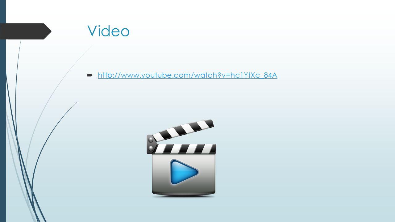 Video  http://www.youtube.com/watch?v=hc1YtXc_84A http://www.youtube.com/watch?v=hc1YtXc_84A