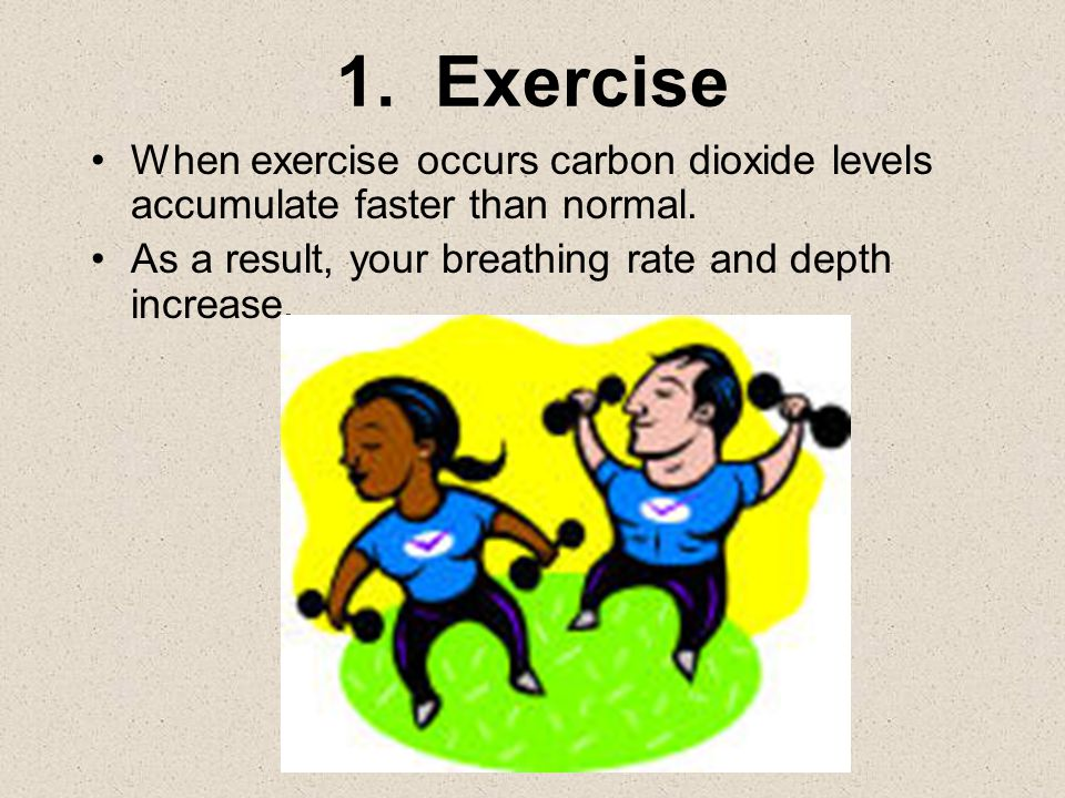 Factors Affecting Breathing Rate