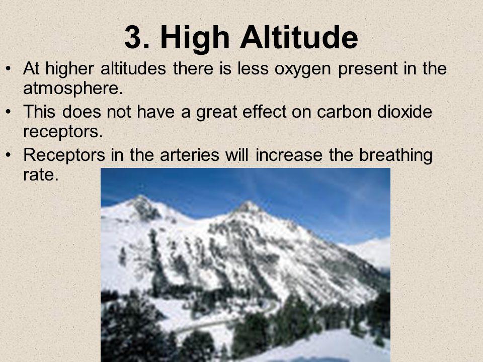 2. Hormones Hormones such adrenaline increases breathing rate