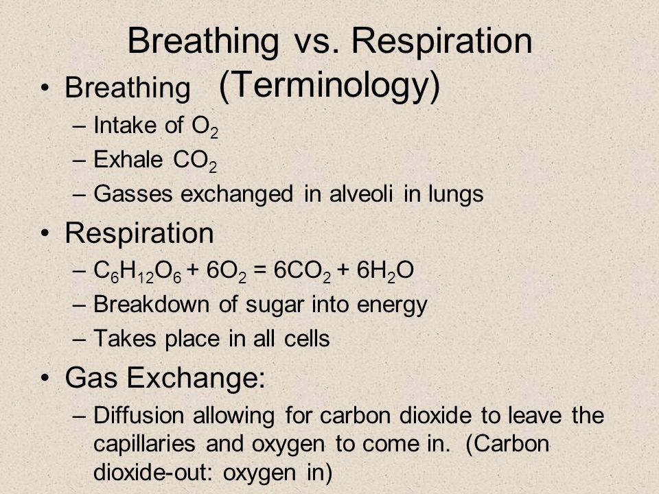 Cellular Respiration: when cells oxidize organic carbon to obtain energy.