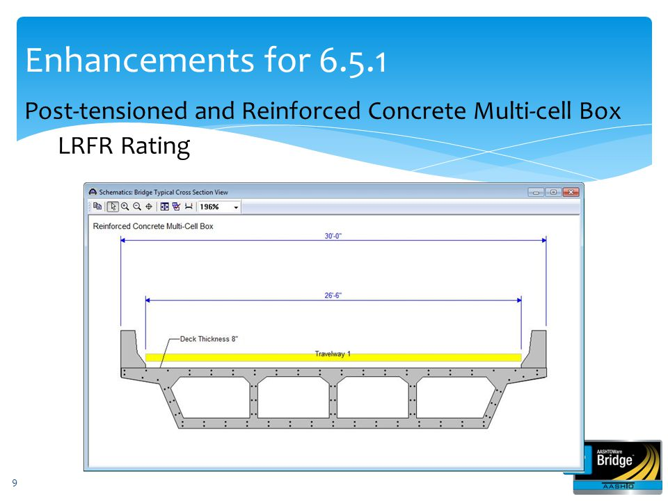 Enhancements for 6.6 (June 30, 2014) BrD PS design tool (Iterative design) Curved Girder Phase 3 (e.g.