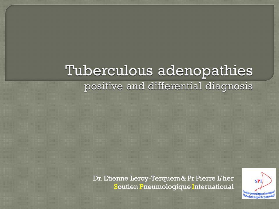 Dr. Etienne Leroy-Terquem & Pr Pierre L'her Soutien Pneumologique International