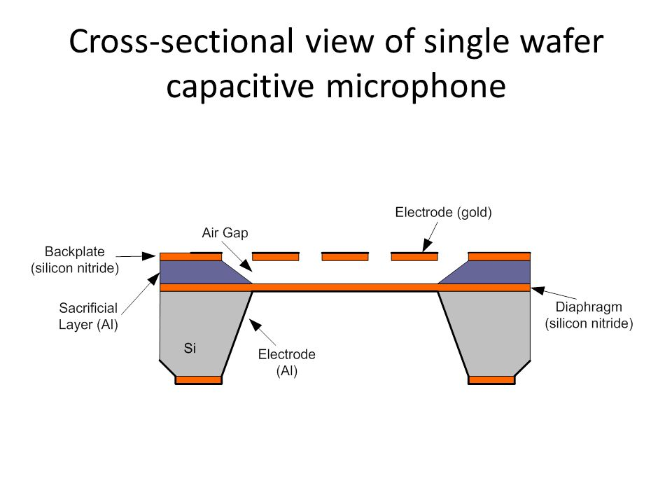 Fabrication process of the microphone