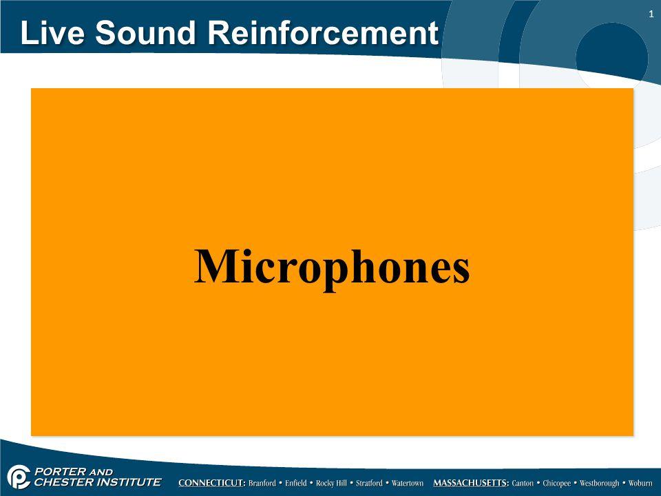 1 Live Sound Reinforcement Microphones