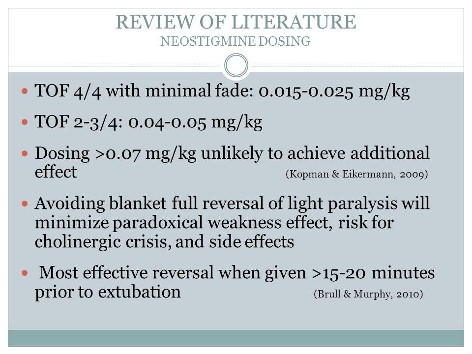 REVIEW OF LITERATURE PONV SIDE EFFECT King et al.