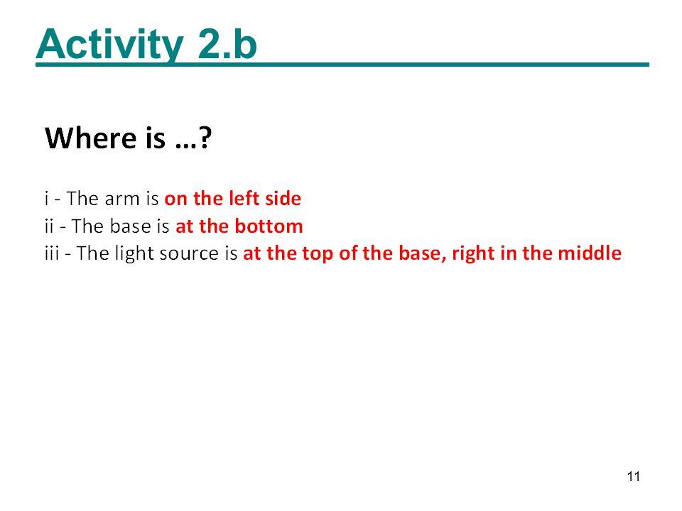 11 Activity 2.b