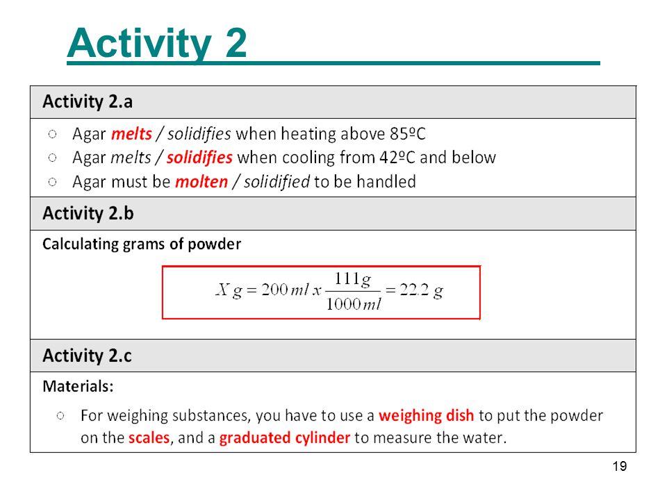 19 Activity 2