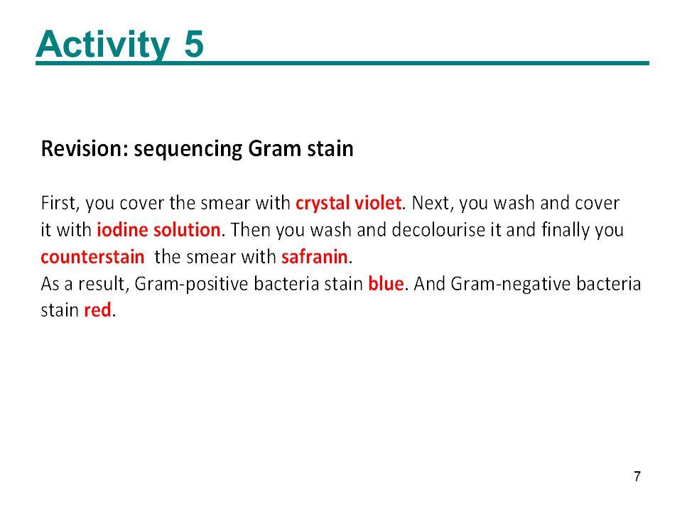 7 Activity 5