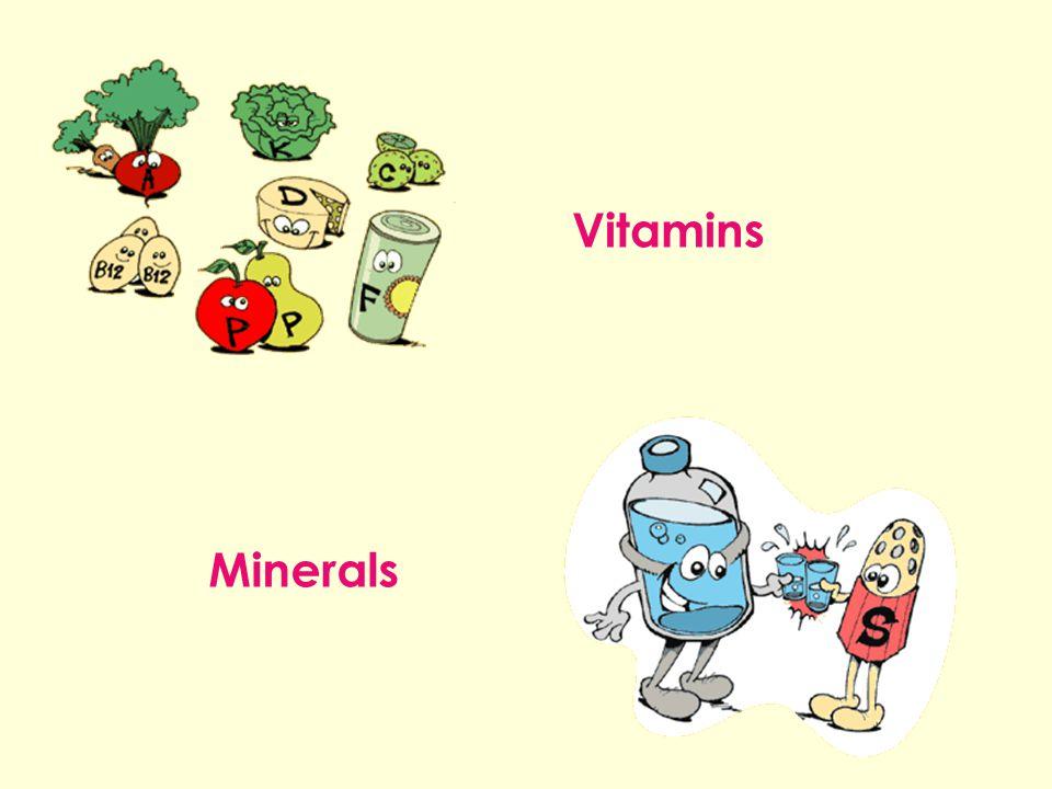 Vitamins Minerals