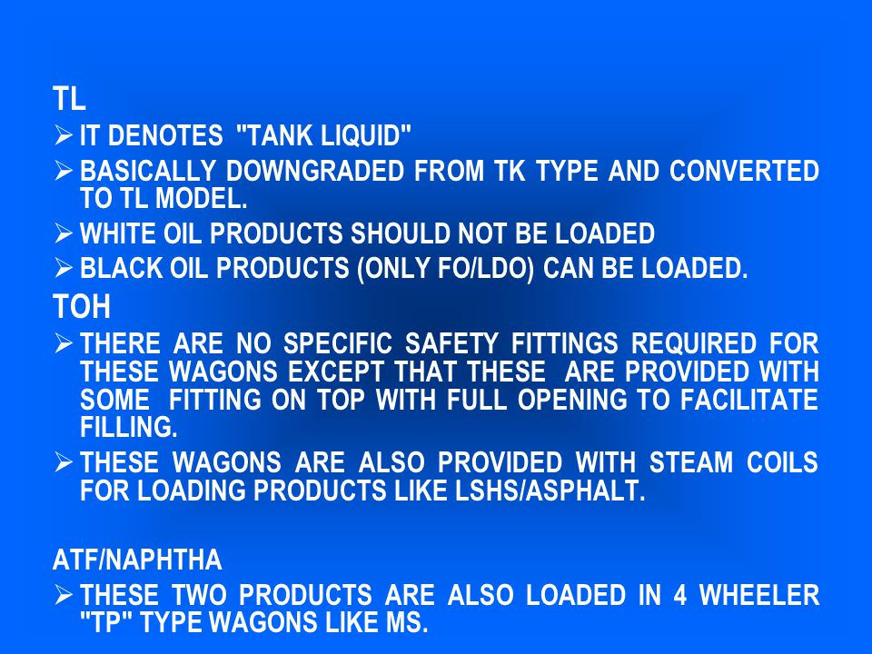 CONCERNED OIL COMPANY OR ANY ONE OF THE OIL COMPANIES TO ACT IMMEDIATELY - RUSHING TO THE SPOT WITH ONE OR TWO EMPTY TANK TRUCKS – MEN & MATERIAL - ARRANGE FOR TRANSHIPMENT.
